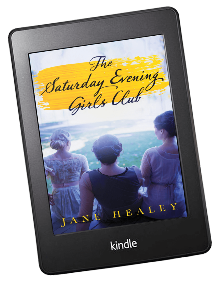 Read The Saturday Evening Girls Club on Amazon Kindle Device
