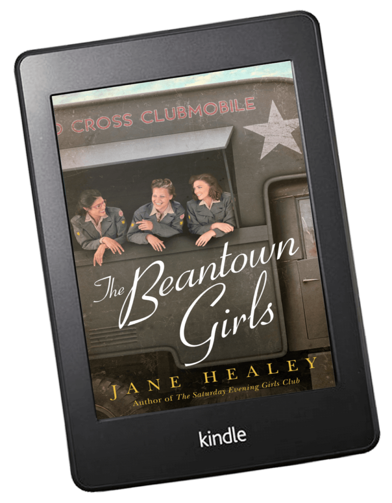 The Beantown Girls on Amazon Kindle Reader